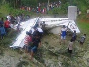 Training aircraft crashes in west Indonesia, no fatalities reported