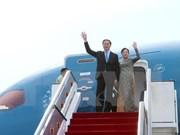 Vietnamese President starts State visit to Singapore