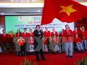 Vietnam's athletes with disabilities depart for Rio Paralympics