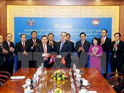 Vietnam, Laos fatherland fronts forge stronger ties