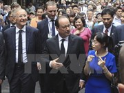 President Hollande's Vietnam visit makes headlines in France