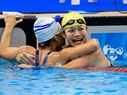 Vietnamese swimmers perform well at Paralympics
