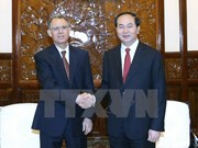 President receives out-going Moroccan Ambassador