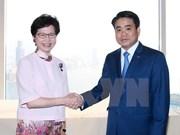 Hanoi, Hong Kong step up cooperation