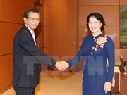 NA Chairwoman bids farewell to Japanese Ambassador