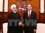 VN, Iran issue joint statement on Iran President's visit