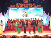 Outstanding farmers honoured in Hanoi