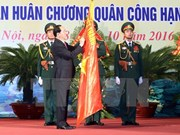 President attends Hanoi armed forces' anniversary