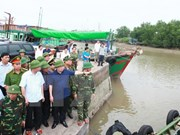 Deputy PM inspects storm prevention in Hai Phong