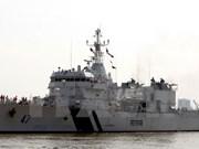 Indian coast guard ship visits Da Nang