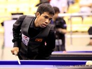 Vietnamese cueists compete at world Billiards event
