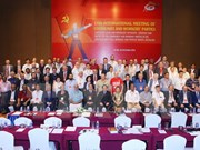 Meeting strengthens relations among communist parties