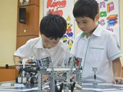 Annual Robotics Contest held for school kids