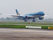 Vietnam Airlines receives fifth A350 aircraft