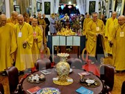 Front leader congratulates Buddhists on VBS's anniversary