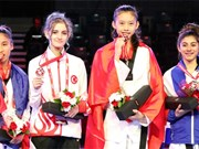 Taekwondo gold medal for Vietnam at world junior champs