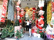 Hanoi engulfed in Christmas atmosphere