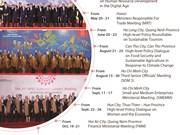 Main activities during APEC Year 2017 in Vietnam