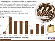 Coffee exports drop in volume, surge in value