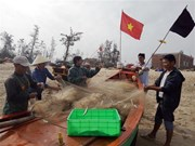 Fishermen start first voyage of new lunar year