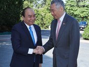 Prime Minister Nguyen Xuan Phuc on official visit to Singapore