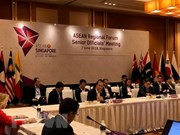 Officials of ASEAN, partner countries talk regional cooperation