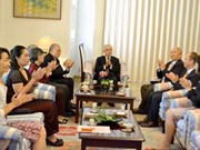 Vietnamese professor honoured by Japanese Consulate General