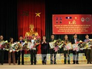 Lao decorations awarded to Vietnamese volunteer soldiers