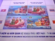 Stamp exhibition on Vietnam opens in Bangkok