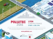 Vietnam named country of the year at Pollutec 2016 in Lyon