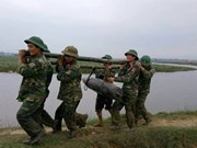 230kg bomb recovered from Ha Tinh River