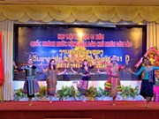 Greetings to Laos' 41st National Day
