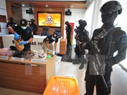 Indonesian police arrest 10 over treason