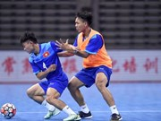 Vietnam lose first match at international futsal friendly