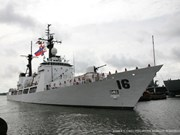 Philippine naval ship visits Cam Ranh port