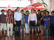 More Vietnamese fishermen return home from Indonesia