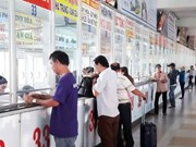 Transport firms add routes before Tet