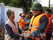 Deputy PM inspects flood-hit areas in Binh Dinh, Quang Ngai