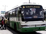 1,000 more bus trips in HCM City during New Year