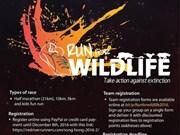 Run for wild animals held in Hanoi