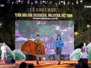Malaysia-Indonesia-Vietnam Culture Week concludes