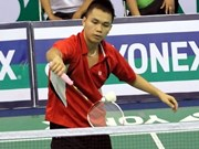 Vietnamese players reach int'l badminton tourney semis