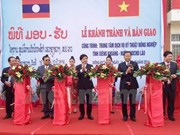 Vietnam helps Laos build agricultural technical service centre