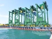 Doosan Vina exports container cranes to Saudi Arabia
