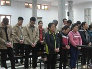 Hanoi court hands down nine death, life sentences on drug dealers