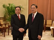 Vietnam Fatherland Front boosts links with Chinese counterpart