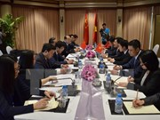 Deputy Prime Minister meets Chinese FM in Cambodia
