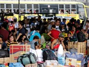 Philippines: Hundreds of thousands evacuated as typhoon looms