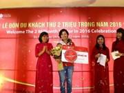 Da Nang: Ba Na Hills welcomes two-millionth tourist in 2016