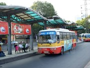 Hanoi's bus route change starts January 2